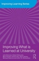 Improving What is Learned at University - John Brennan; Robert Edmunds; Muir Houston; David Jary; Yann Lebeau