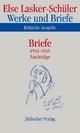 Werke und Briefe. Kritische Ausgabe - Else Lasker-Schüler; Karl Jürgen Skrodzki; Andreas B. Kilcher