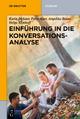 Einführung in die Konversationsanalyse