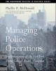 Managing Police Operations - Phyllis McDonald