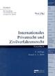 Internationales Privatrecht und Zivilverfahrensrecht - Tomislav Boric