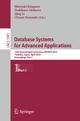 Database Systems for Advanced Applications - Hiroyuki Kitagawa; Yoshiharu Ishikawa; Wenjie Li; Chiemi Watanabe