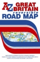 Great Britain Reversible Road Map - Geographers' A-Z Map Company
