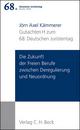 Verhandlungen des 68. Deutschen Juristentages Berlin 2010 Bd. I: Gutachten Teil H: Die Zukunft der Freien Berufe zwischen Deregulierung und Neuordnung