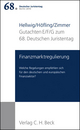 Verhandlungen des 68. Deutschen Juristentages Berlin 2010 Bd. I: Gutachten Teil E/F/G: Finanzmarktregulierung