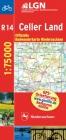 Topographische Sonderkarten Niedersachsen. Sonderblattschnitte auf... / Radwanderkarte 1 : 75000 mit Begleitheft / Celler Land