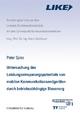 Untersuchung des Leistungseinsparpotentials von mobilen Kommunikationsendgeräten durch betriebsabhängige Steuerung. - Peter Spies; Heinz Gerhäuser