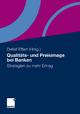 Qualitäts- und Preisimage bei Banken - Detlef Effert