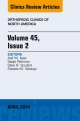 Volume 45, Issue 2, An Issue of Orthopedic Clinics,