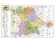 Bayern politisch mit Postleitzahlen - Heinrich Stiefel