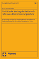 Paritätische Vertragsfreiheit durch reflexiven Diskriminierungsschutz - Anna Verena Lauber
