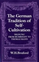German Tradition of Self-cultivation