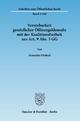 Vereinbarkeit gesetzlicher Öffnungsklauseln mit der Koalitionsfreiheit aus Art. 9 Abs. 3 GG. - Franziska Drohsel
