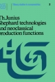 Shephard Technologies and Neoclassical Production Functions - T. Junius