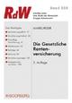 Gesetzliche Rentenversicherung - Horst Marburger