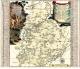 Historische Karte: Amt Weißenfels 1757: Accurate Geographische Delineation des Hochf. Sachß. Amtes Weissenfels. Nebst allen dazu ... wie auch etlichen angraenzenden Orten (Plano)