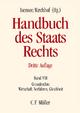 Handbuch des Staatsrechts - Rüdiger Breuer; Paul Kirchhof; Franz-Ludwig Knemeyer; Walter Leisner; Markus Möstl; Sebastian Müller-Franken; Hans-Jürgen Papier; Michael Sachs; Rupert Scholz; Josef Isensee; Paul Kirchhof