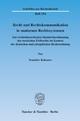 Recht und Rechtskommunikation in modernen Rechtssystemen. - Stanislav Kabanov