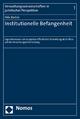 Institutionelle Befangenheit - Felix Barbirz
