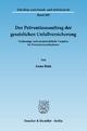Der Präventionsauftrag der gesetzlichen Unfallversicherung. - Anna Rink