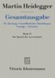 Der Spruch des Anaximander - Martin Heidegger; Ingeborg Schüssler