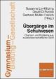 Übergänge im Schulwesen - Susanne Lin-Klitzing; David DiFuccia; Gerhard Müller-Frerich