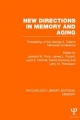 New Directions in Memory and Aging (PLE:Memory)