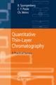 Quantitative Thin-Layer Chromatography - Bernd Spangenberg; Colin F. Poole; Christel Weins