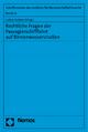 Rechtliche Fragen der Passagierschifffahrt auf Binnenwasserstraßen - Lothar Kuhlen