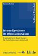 Interne Revision im öffentlichen Sektor - Hannes Schuh