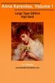 Anna Karenina, Volume 1 - Count Leo Nikolayevich Tolstoy