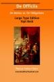 de Officiis; Or, on Duties; On Obligations - Cicero