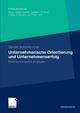 Unternehmerische Orientierung und Unternehmenserfolg - Gerald Schönbucher
