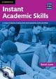 Instant Academic Skills with Audio CD - Sarah Lane