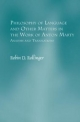 Philosophy of Language and Other Matters in the Work of Anton Marty - Robin D. Rollinger
