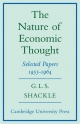 Nature of Economic Thought