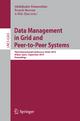 Data Management in Grid and Peer-to-Peer Systems - Abdelkader Hameurlain; Franck Morvan; A Min Tjoa