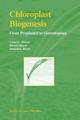Chloroplast Biogenesis - U. C. Biswal; M. K. Raval