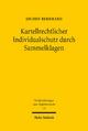 Kartellrechtlicher Individualschutz durch Sammelklagen - Jochen Bernhard