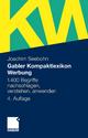 Gabler Kompaktlexikon Werbung - Joachim Seebohn