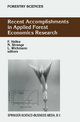 Recent Accomplishments in Applied Forest Economics Research - Finn Helles; N. Strange; Lars Wichmann