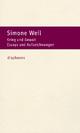 Krieg und Gewalt - Simone Weil