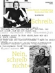 Schreib. Nein, schreib nicht: Marlene Dietrich /Friedrich Torberg - Briefwechsel 1946-1979