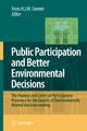 Public Participation and Better Environmental Decisions - Frans H.J.M. Coenen