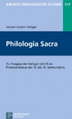 Philologia Sacra - Johann Anselm Steiger