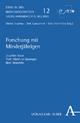 Forschung mit Minderjährigen - Joachim Boos; Tade M. Spranger; Bert Heinrichs
