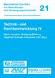 Technik- und Rechtsentwicklung IV - Martin Arbeiter; Wolfgang Bühring; Siegfried Schwab; Hanspeter Stihl