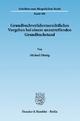 Grundbuchverfahrensrechtliches Vorgehen bei einem unzutreffenden Grundbuchstand. - Michael Dümig
