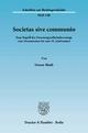 Societas sive communio. - Simon Blath