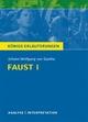 Faust I von Johann Wolfgang von Goethe.